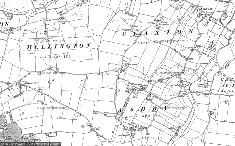 Ashby St Mary, 1881 - 1884