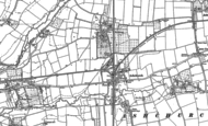 Old Map of Ashchurch, 1900 - 1901