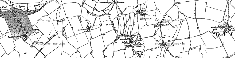 Old map of Ashen Ho in 1896