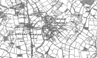 Old Map of Ashford Carbonell, 1884 - 1902