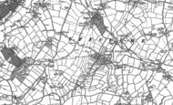 Map of Ashill, 1887