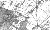 Old Map of Ashley, 1872 - 1897