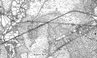Old Map of Ashley Heath, 1908