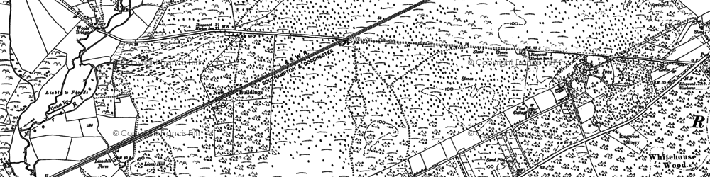 Old map of Wools Br in 1908