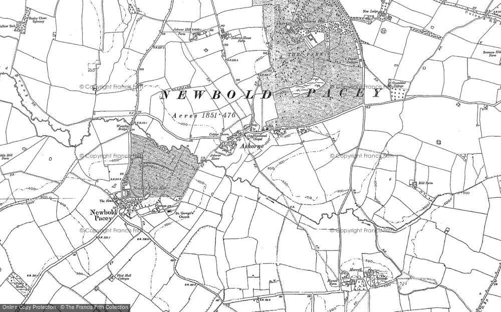 Ashorne, 1885