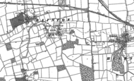 Old Map of Ashton, 1886 - 1899