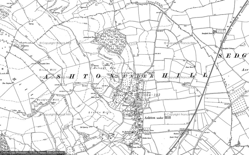 Ashton under Hill, 1883 - 1884