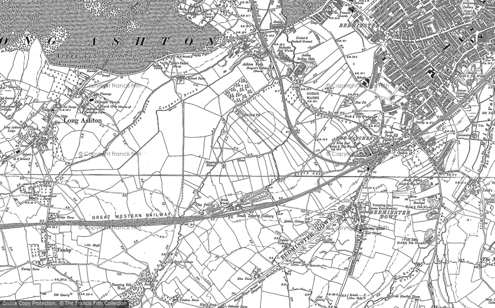 Old Map of Ashton Vale, 1902 in 1902