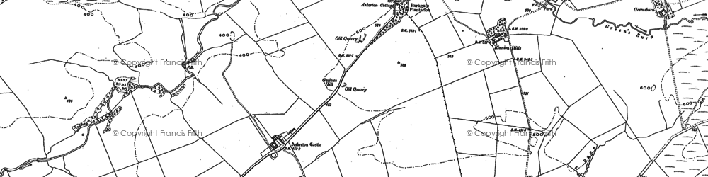 Old map of Askerton Park in 1899