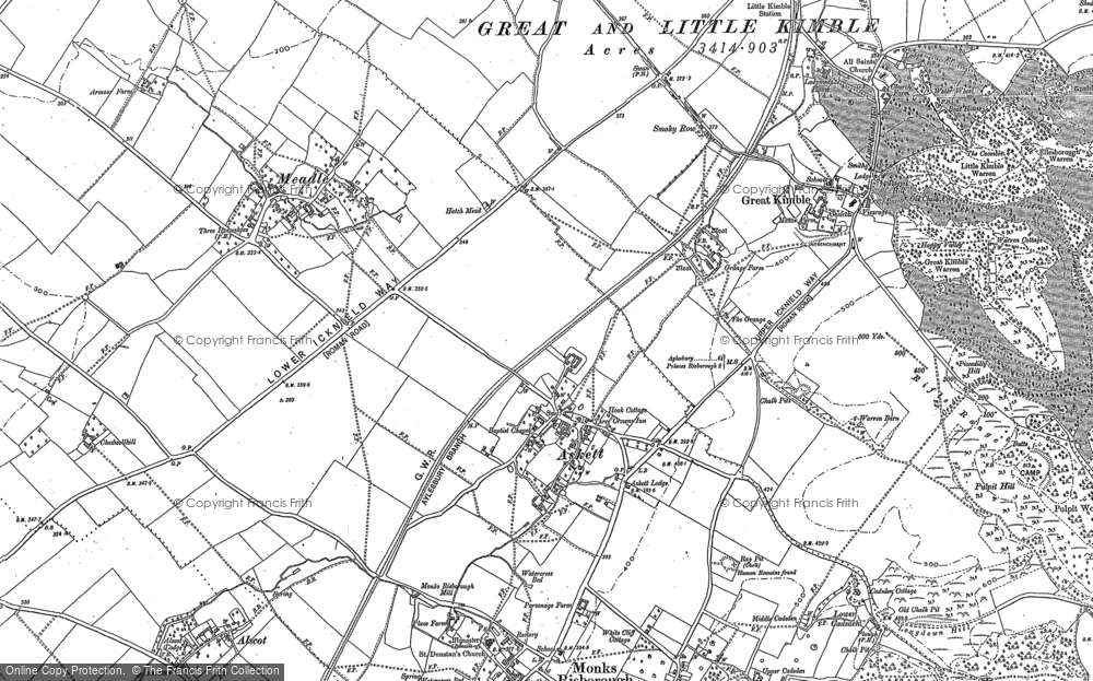Map of Askett, 1897