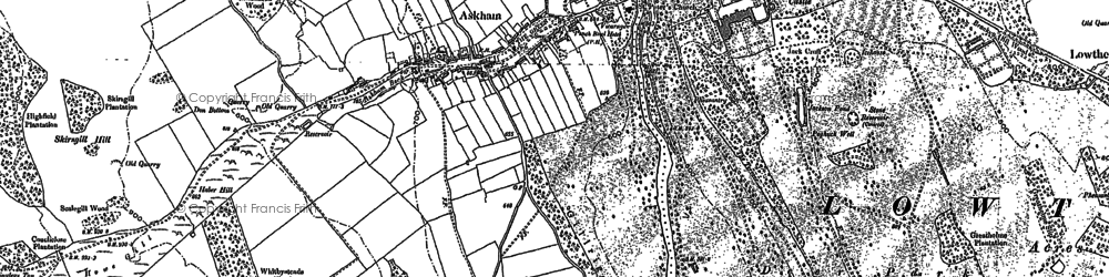 Old map of Askham Fell in 1913