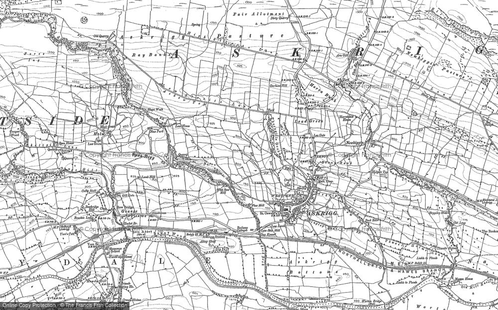 Askrigg, 1892 - 1893