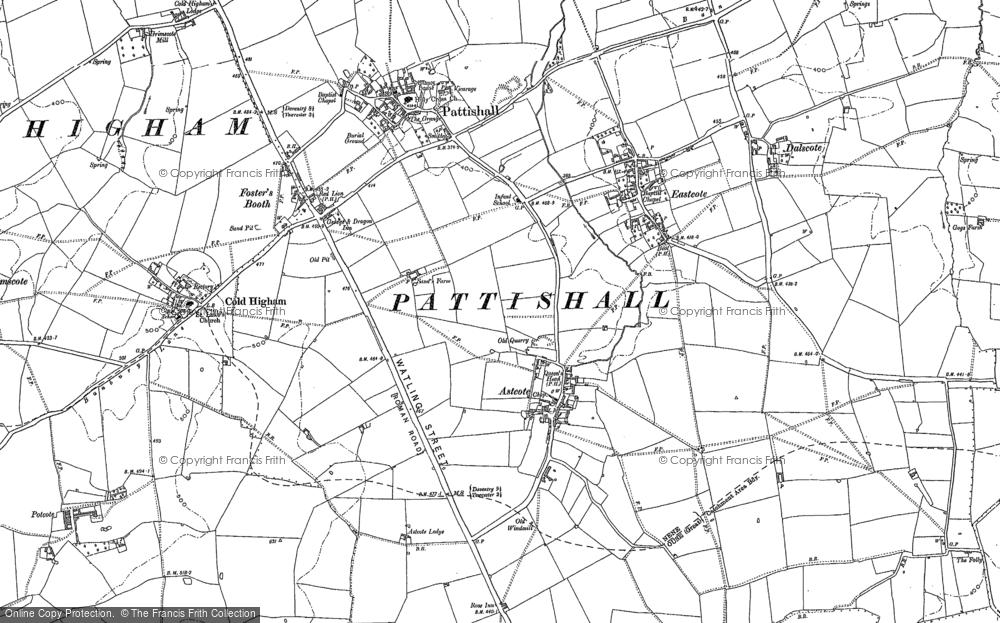 Astcote, 1883