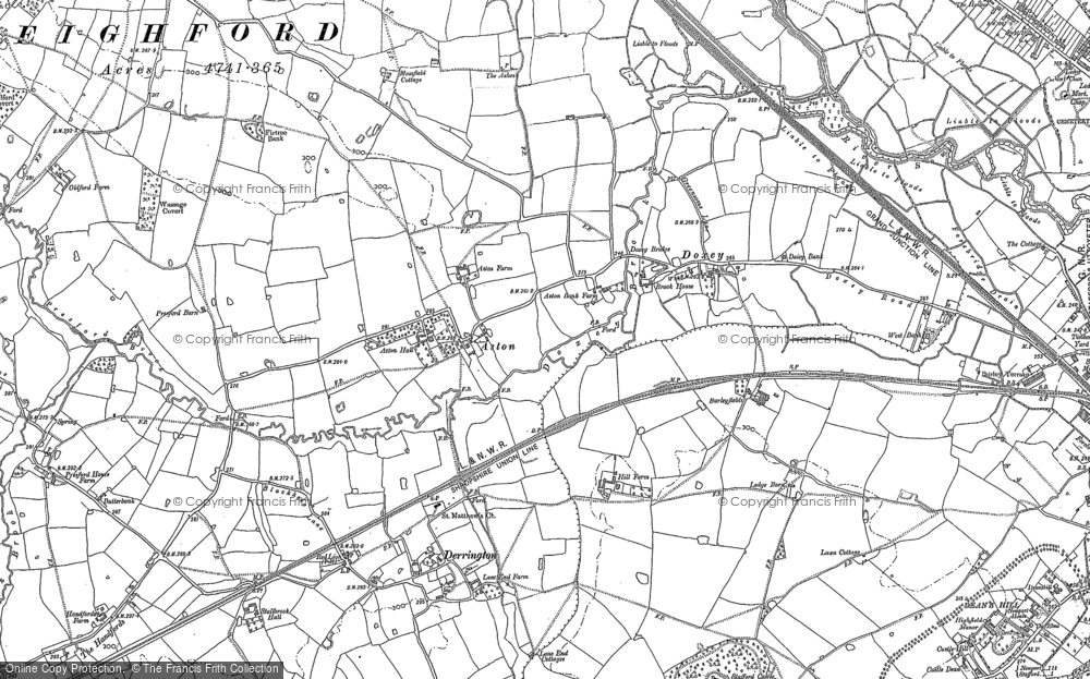 Old Map of Aston, 1879 - 1881 in 1879