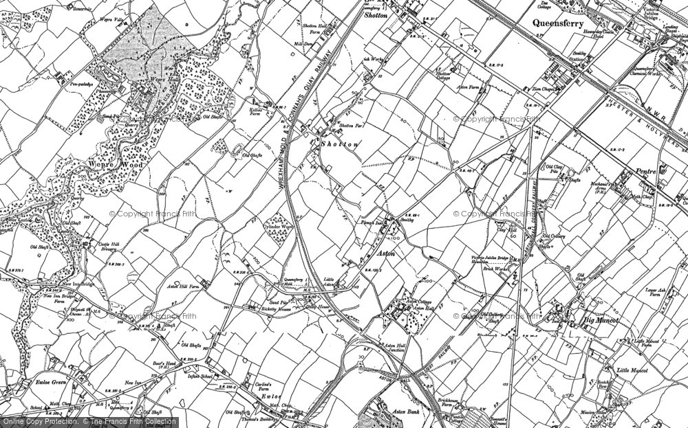 Old Map of Aston, 1898 - 1910 in 1898