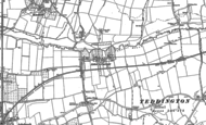 Old Map of Aston on Carrant, 1900 - 1901