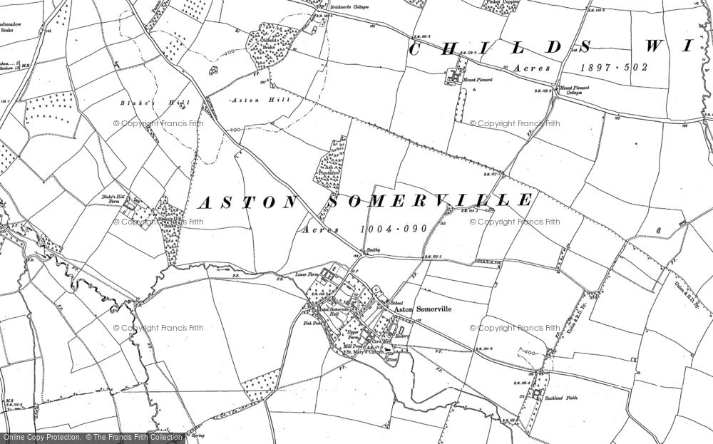 Aston Somerville, 1883 - 1900