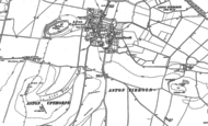 Old Map of Aston Tirrold, 1898 - 1910