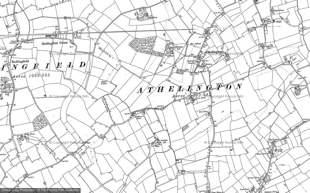 Athelington, 1884