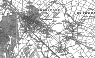 Old Map of Atherstone, 1901