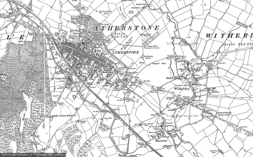 Atherstone, 1901