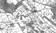 Old Map of Attlebridge, 1882
