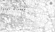 Old Map of Auchmadies, 1896 - 1897