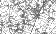 Old Map of Aughton, 1891 - 1892