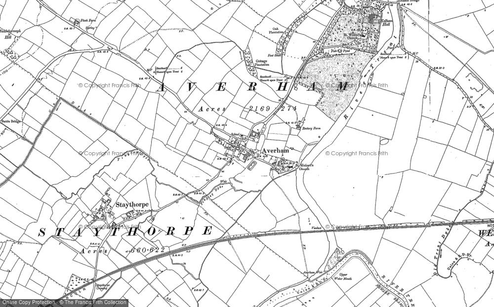 Averham, 1884 - 1899