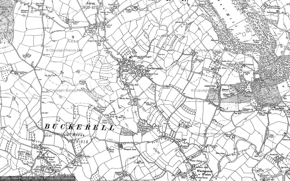 Awliscombe, 1887 - 1888