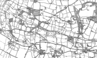 Old Map of Axton Hill, 1948