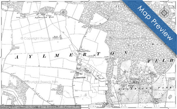 Old Map of Aylmerton, 1885 - 1905 in 1885