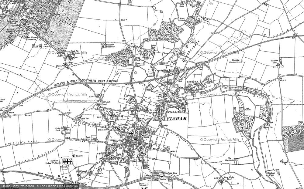 Aylsham, 1885