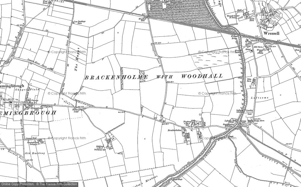 Babthorpe, 1889