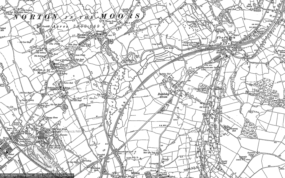 Baddeley Green, 1878 - 1879