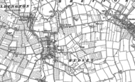Old Map of Badsey, 1883 - 1885