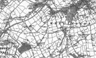 Old Map of Bagley Green, 1903