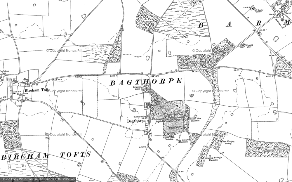 Bagthorpe, 1885