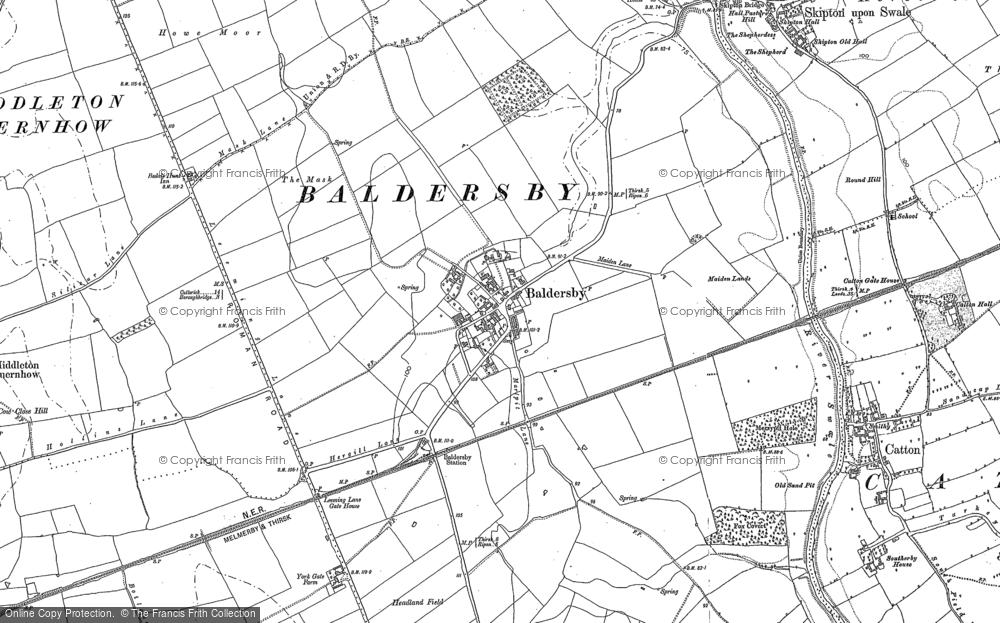 Baldersby, 1890