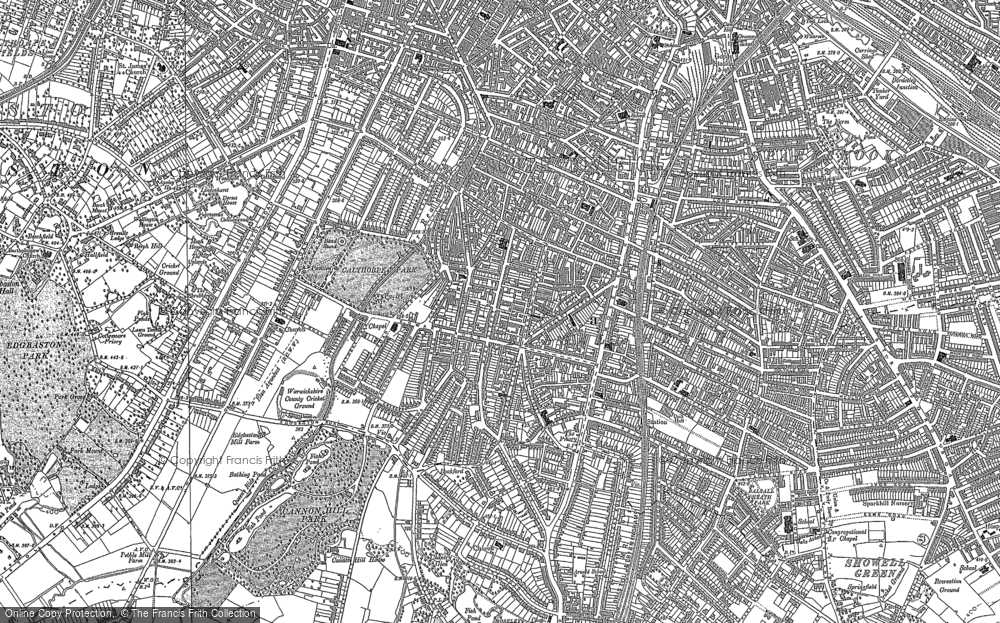 Old Map of Balsall Heath, 1901 - 1903 in 1901