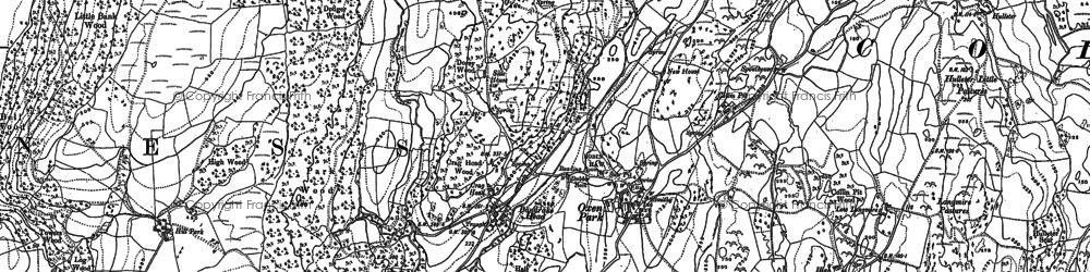 Old map of Bandrake Head in 1911