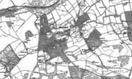 Old Map of Banstead, 1894 - 1895
