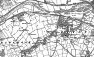 Old Map of Bar Moor, 1914