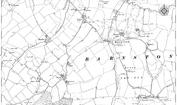 Old Map of Barabhas Iarach, 1895