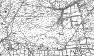Old Map of Barden Moor, 1891