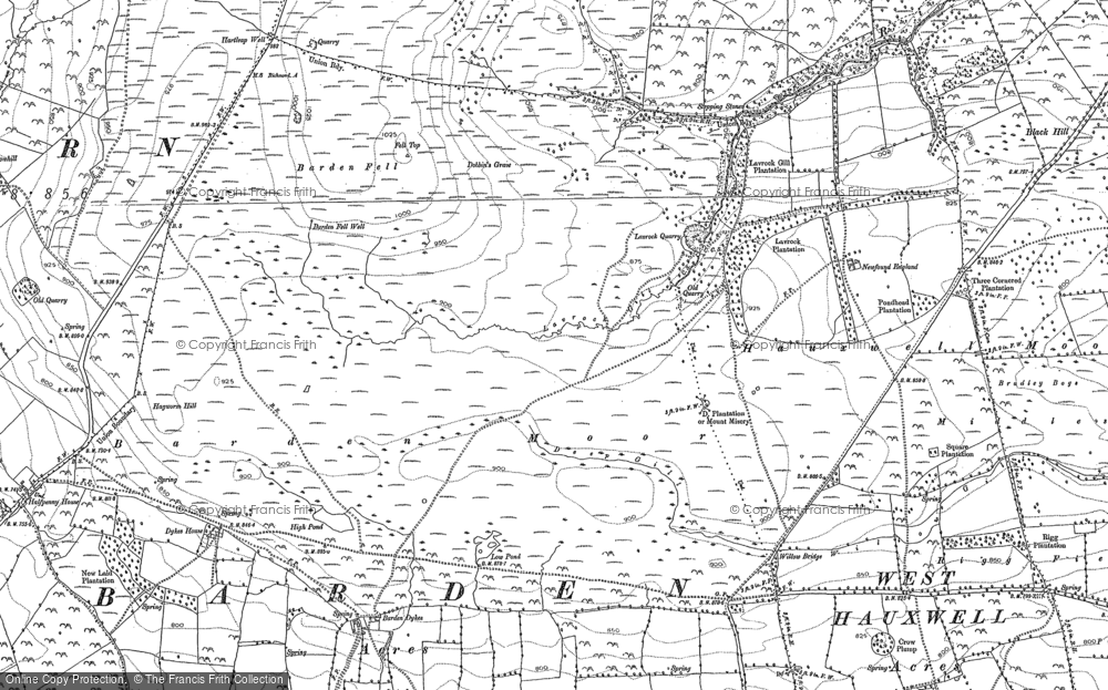 Barden Moor, 1891
