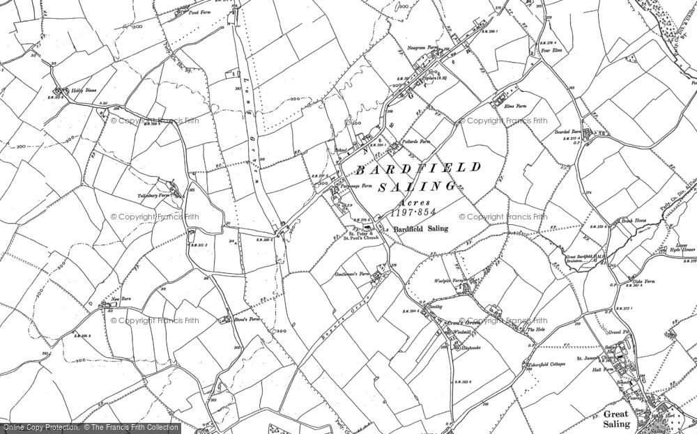 Bardfield Saling, 1896