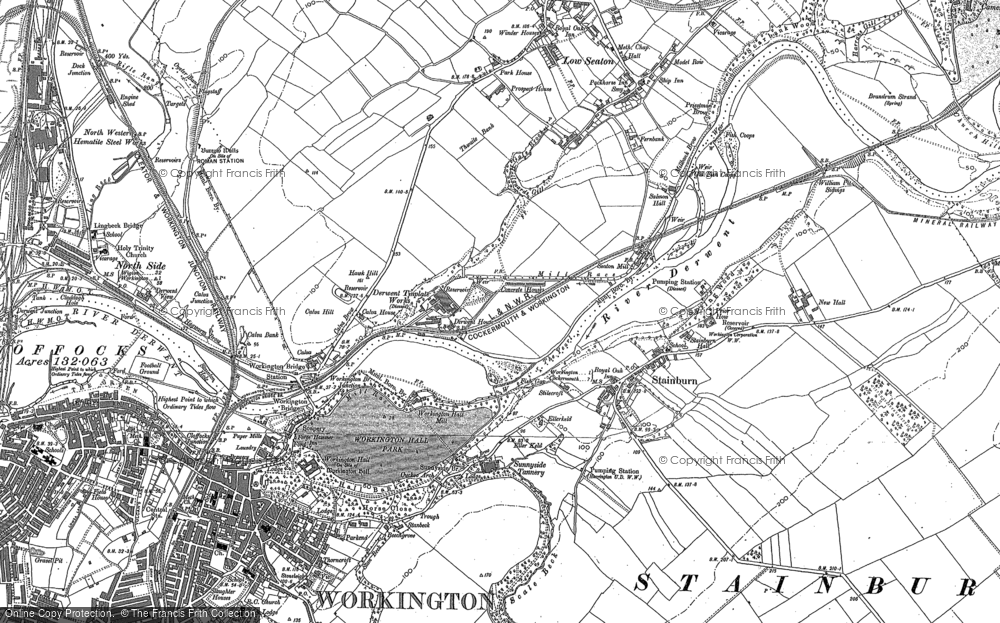 Map of Barepot, 1923