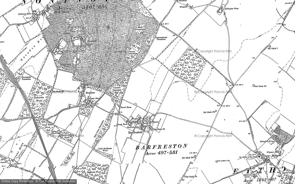 Barfrestone, 1896