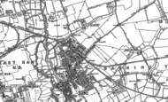 Old Map of Barking, 1894 - 1895